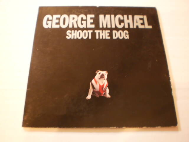 CD Single George Michael - Shoot the dog