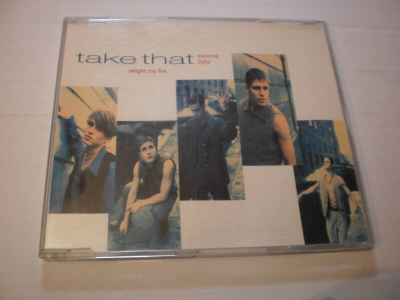 CD Single Take That - Relight my fire