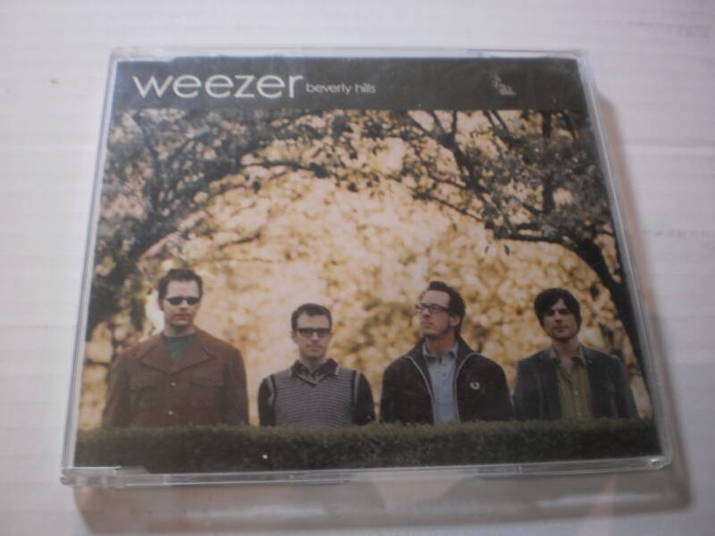 CD Single Weezer - Beverly hills  PROMO