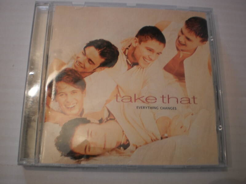 CD Take That - Everything Changes