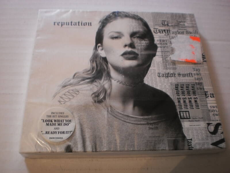CD Taylor Swift - Reputation NIEUW