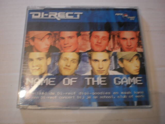 CD Single Di-Rect - Name of the game