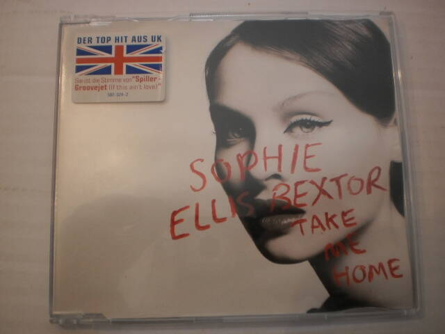 CD single Sophie Ellis Bextor - Take me home