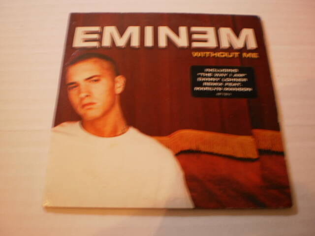 CD Single Eminem - Without me
