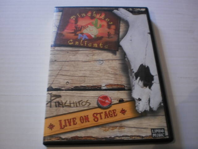 DVD Pinchitos Caliente - live on stage