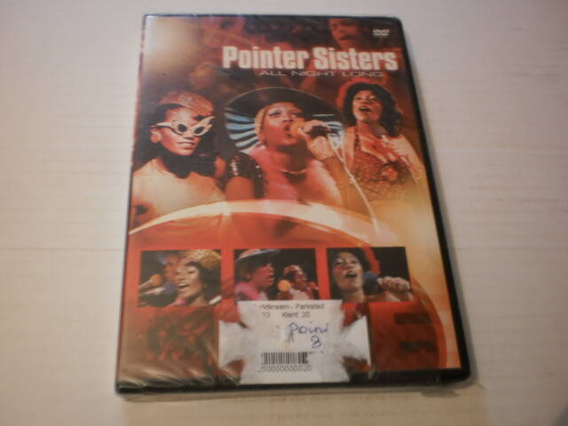 DVD Pointer Sisters - All night long ( 1974 ) ( NIEUW )