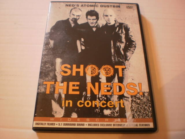 DVD Shoot the Neds -  in concert