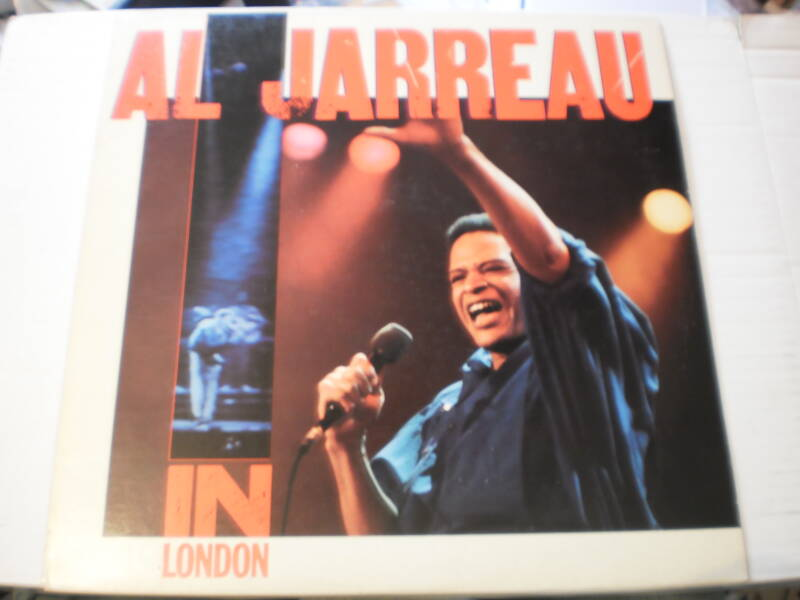 LP Al Jarreau - Live in London