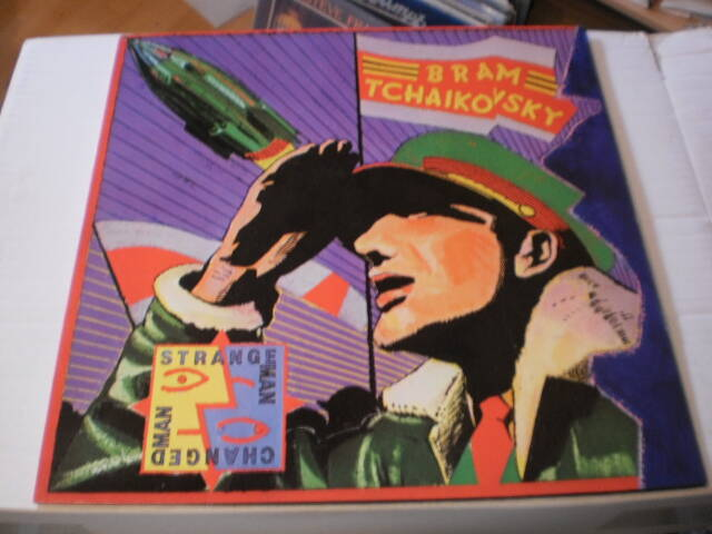 LP Bram Tchaikovsky - Trange man changed man