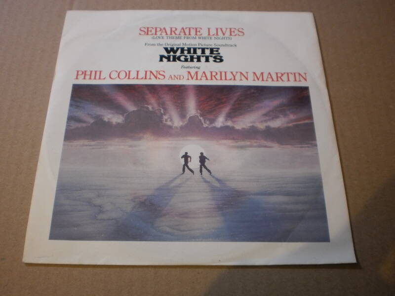 Single Phil Collins & Marilyn Martin - Separate Lives