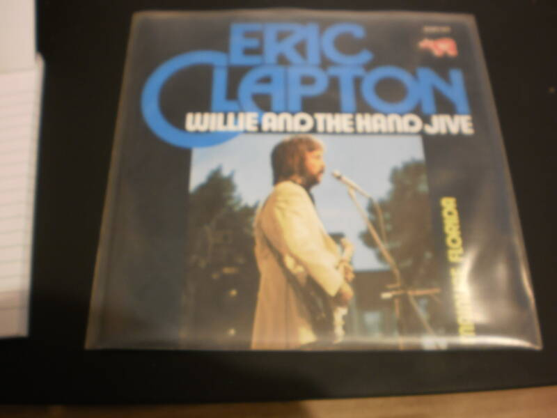 Single Eric Clapton - Willie and the hand jive