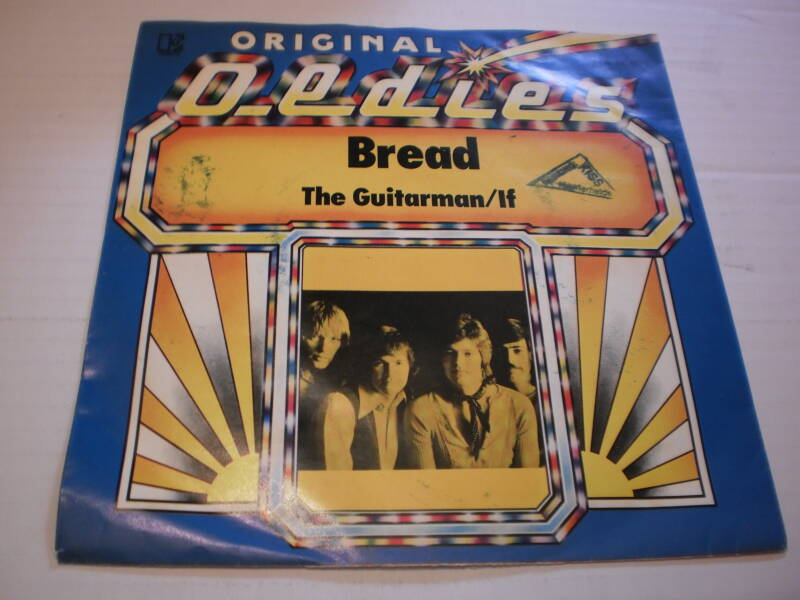 Single Bread - The Guitarman / If