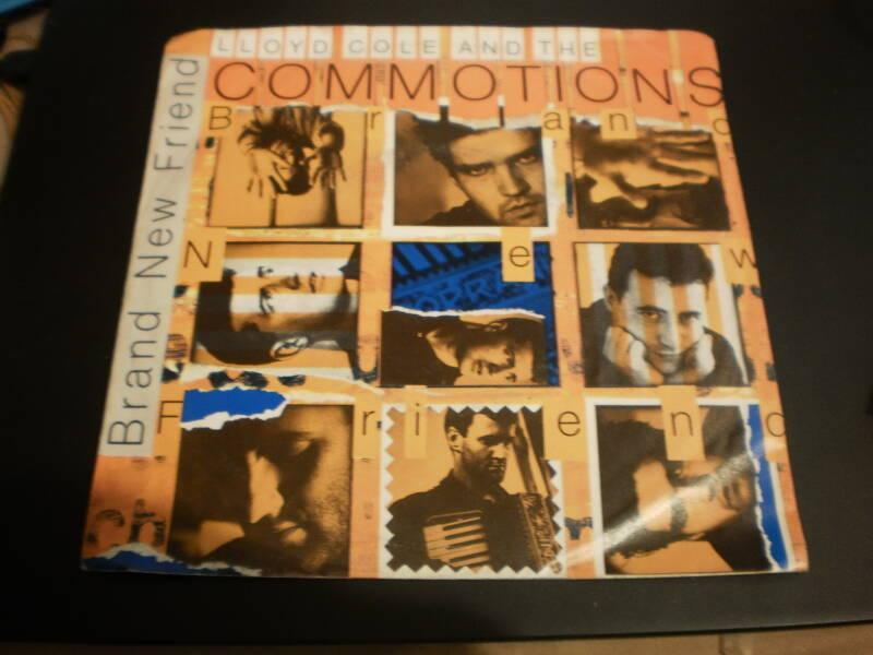 single Lloyd Cole & The Commotions - Brand new friend