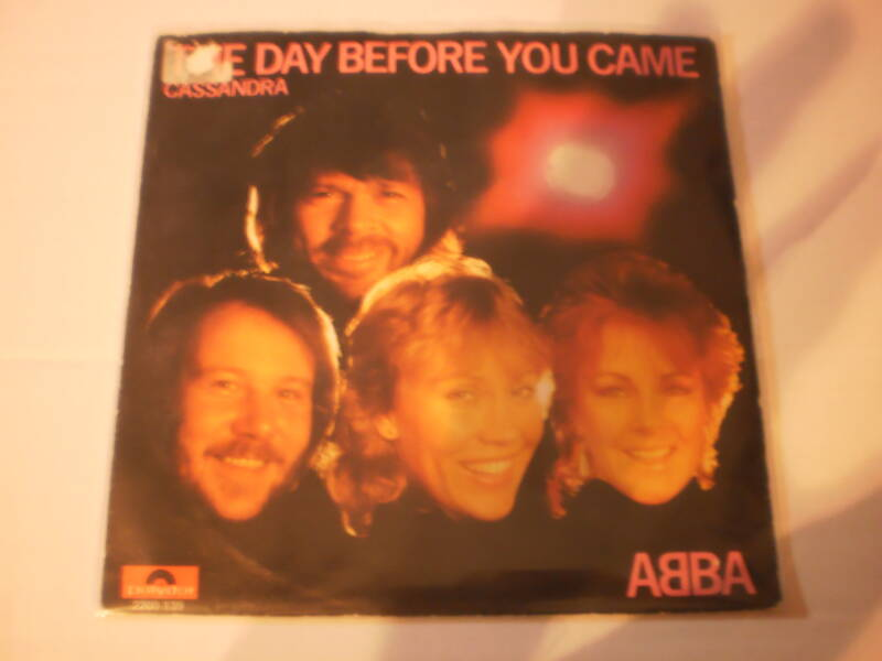 Single ABBA - The Day before you came