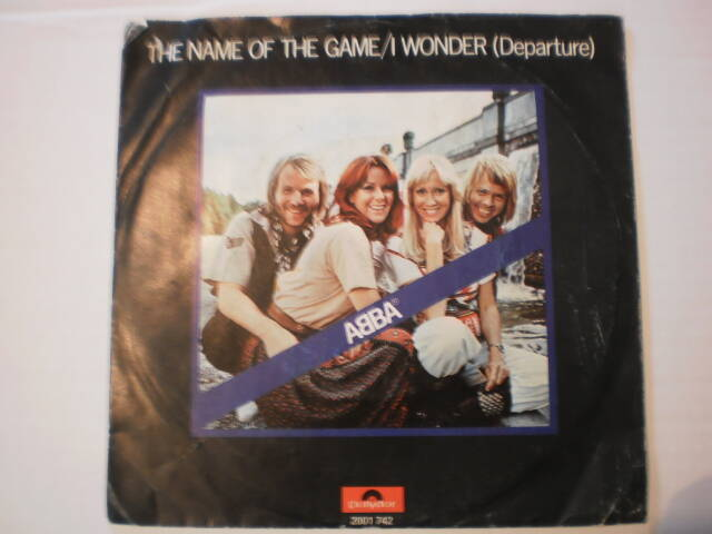 Single ABBA - The Name of the Game