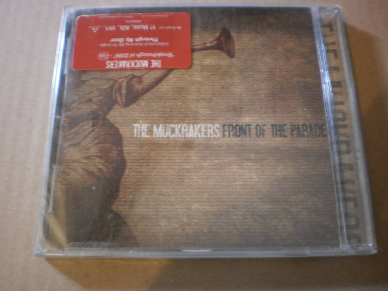 CD The Muckrakers- Front of the parade Nieuw