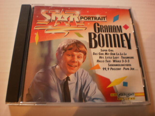 CD Graham Bonney - Portrait
