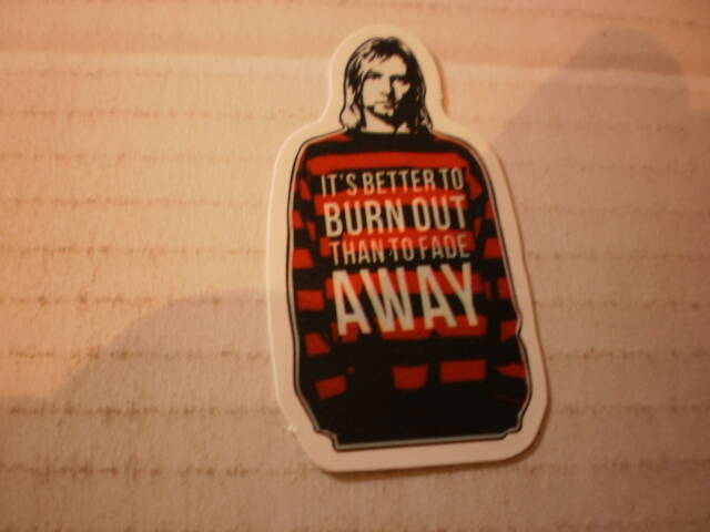 Sticker Kurt Cobain Nirvana ,.,.,.,.