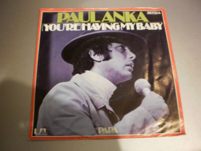 Single Paul Anka - Having my baby