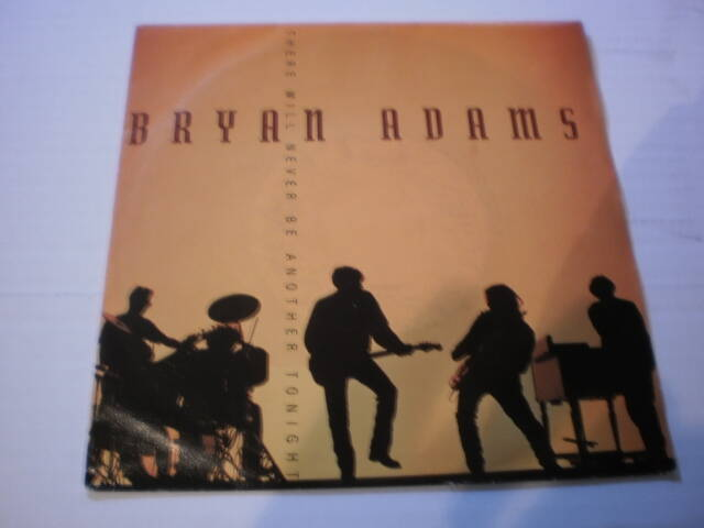 Single Bryan Adams - There will never be another tonight