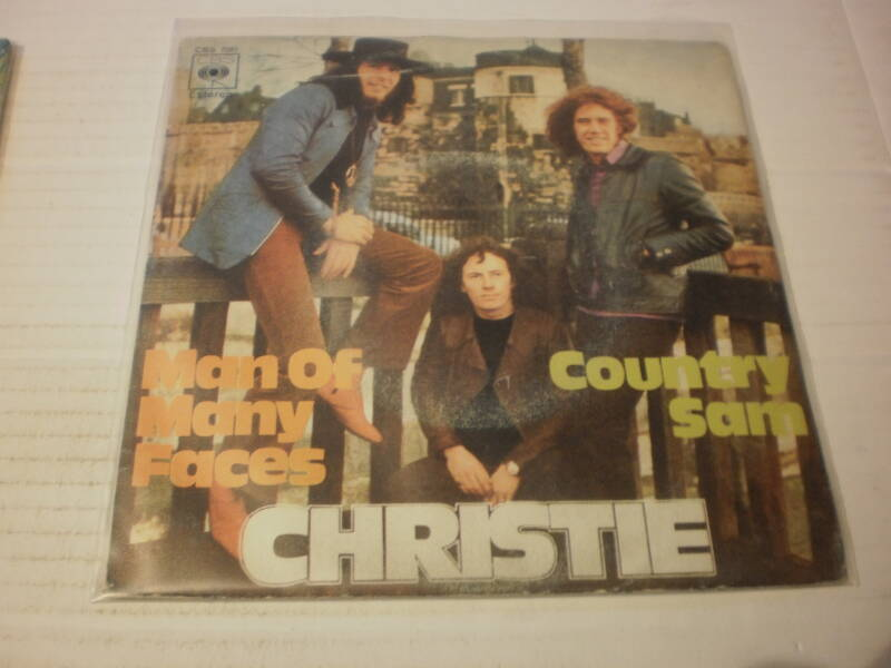 Single Christie - Man of Many Faces ( spanje )
