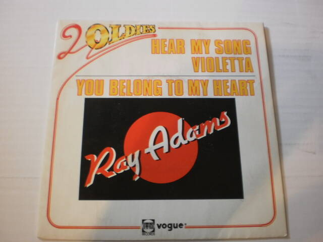 Single Ray Adams - Hear my song violetta