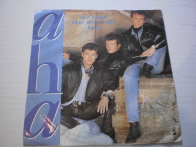 Single A-HA - The Blood that moves the body