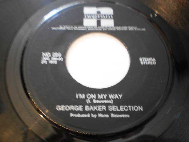 Single George Baker Selection - I'm on my way