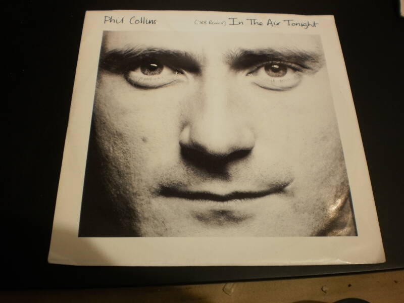 Single Phil Collins - In the air Tonight