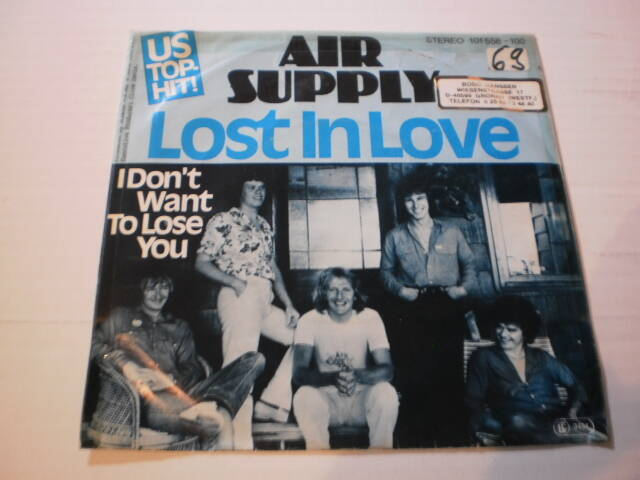 Single Air Supply - Lost in love
