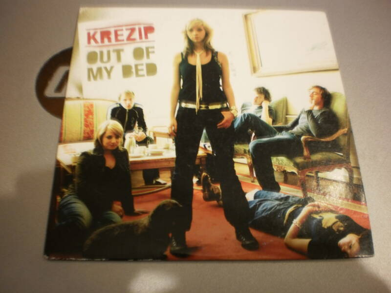 cd single Krezip - out of my bed