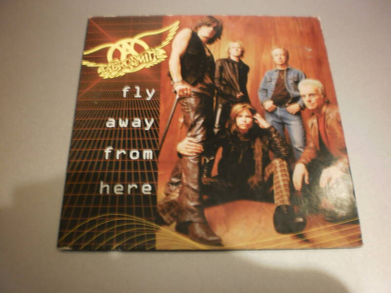 Cd Single Aerosmith - Fly away from here