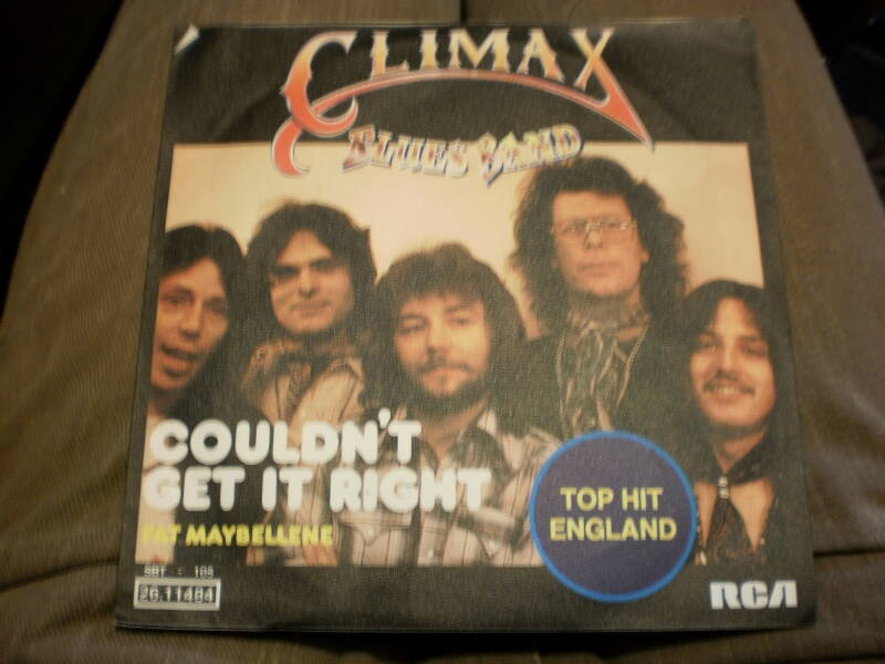 Single Climax Blues Band - Couldn't get it right