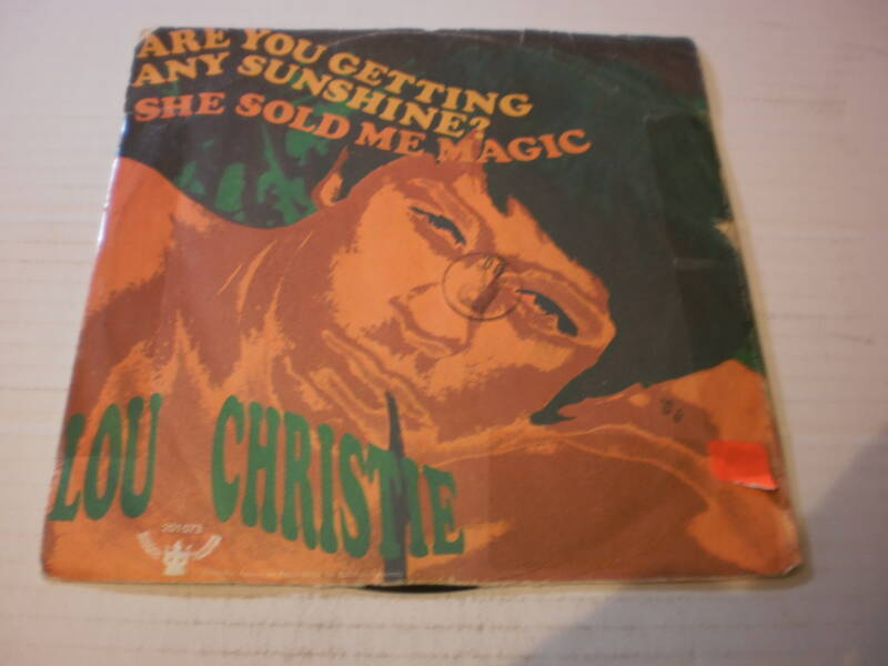 Lou Christie - Are you getting any sunshine