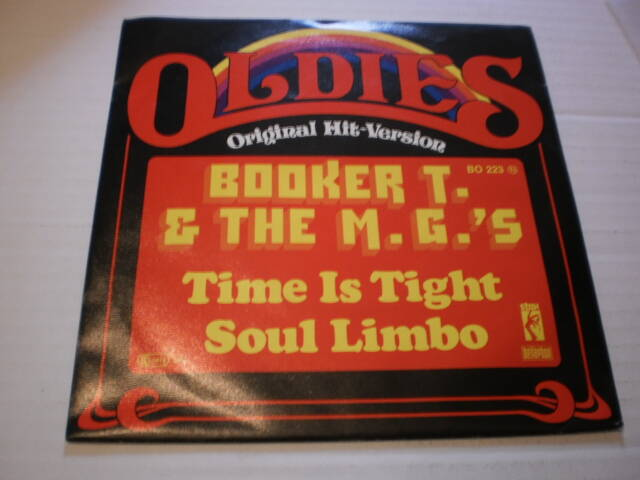 Single Booker T & the MG's - Time is tight