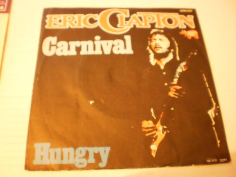 Single Eric Clapton - Carnival / Hungry