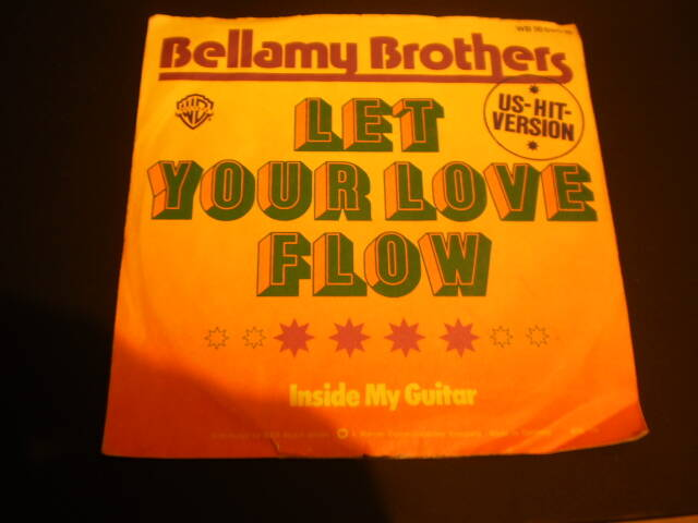 Single Bellamy Brothers - Let your love flow