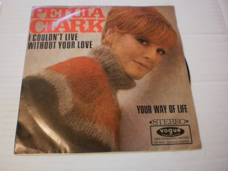 Single Petula Clark - I Couldn't live without your love