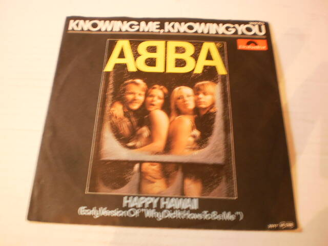 Single ABBA - Knowing me Knowing you