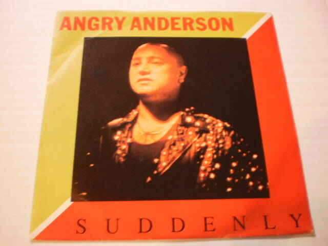 Single Angry Anderson ( Rose Tattoo ) - Suddenly