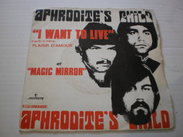 Single Aphrodite's Child - I want to live
