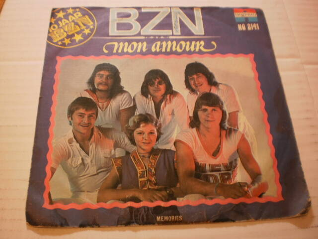 Single BZN - Mon Amour