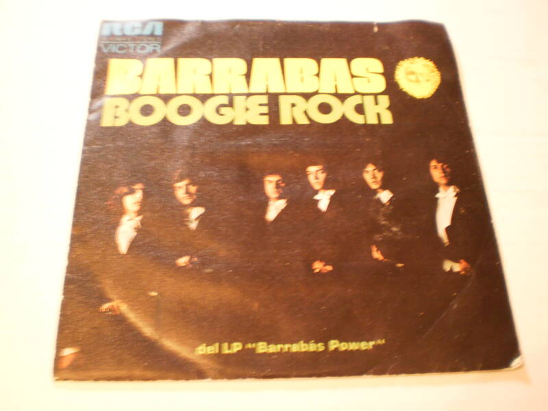 Single Barrabas - Boogie Rock