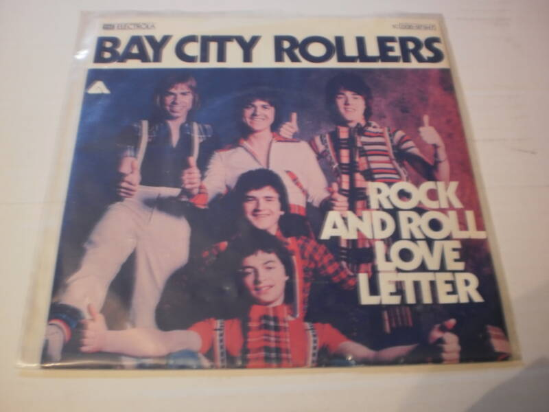 Single Bay City Rollers - Rock and roll love letter