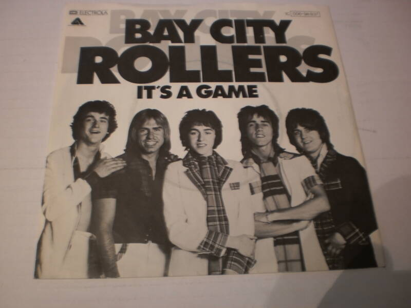 Single Bay City Rollers - It's a game