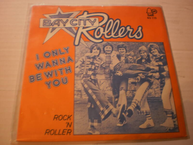 Single Bay City Rollers - I only wanna be with you