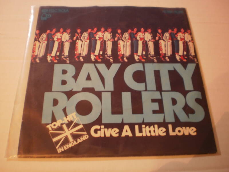 Single Bay City Rollers - Give a little love .