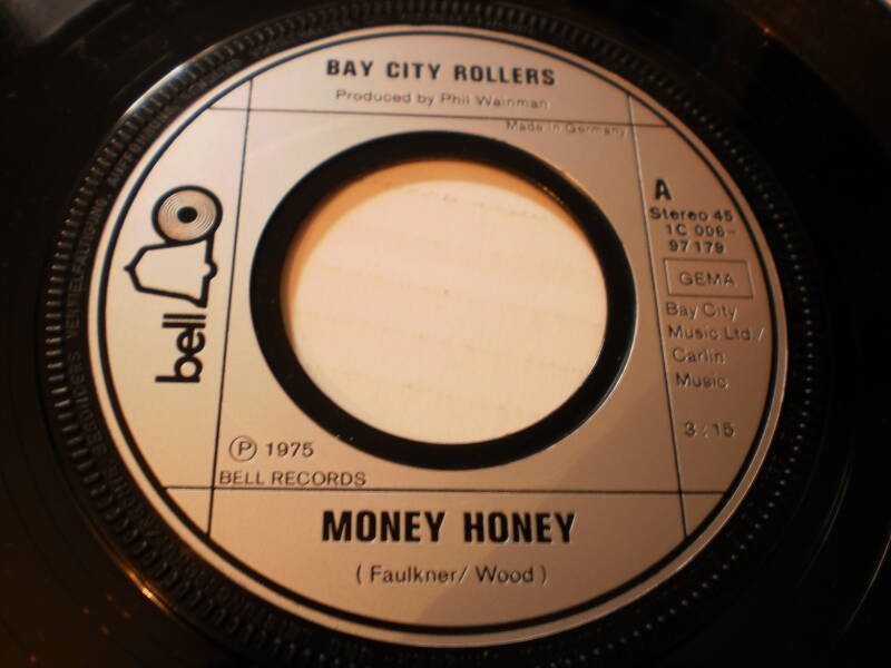 Single Bay City Rollers - Money Honey