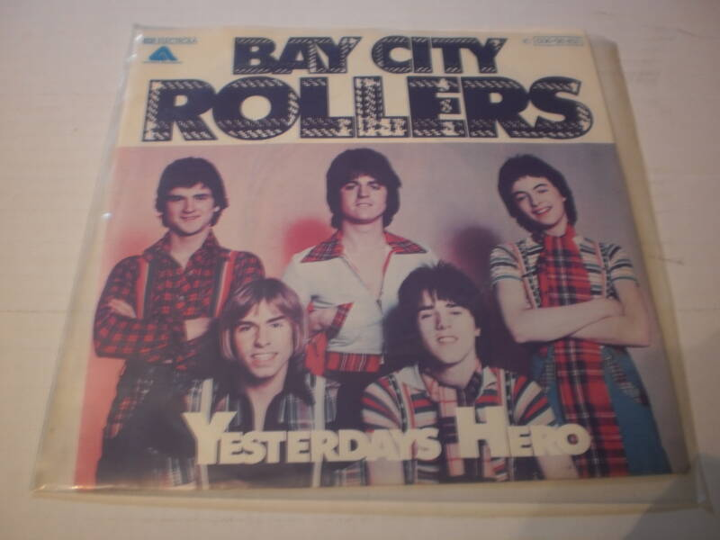 single Bay City Rollers - Yesterdays Hero