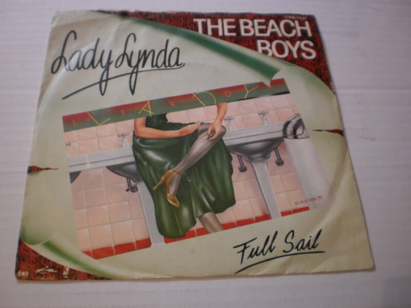 Single The Beach Boys - Lady Lynda